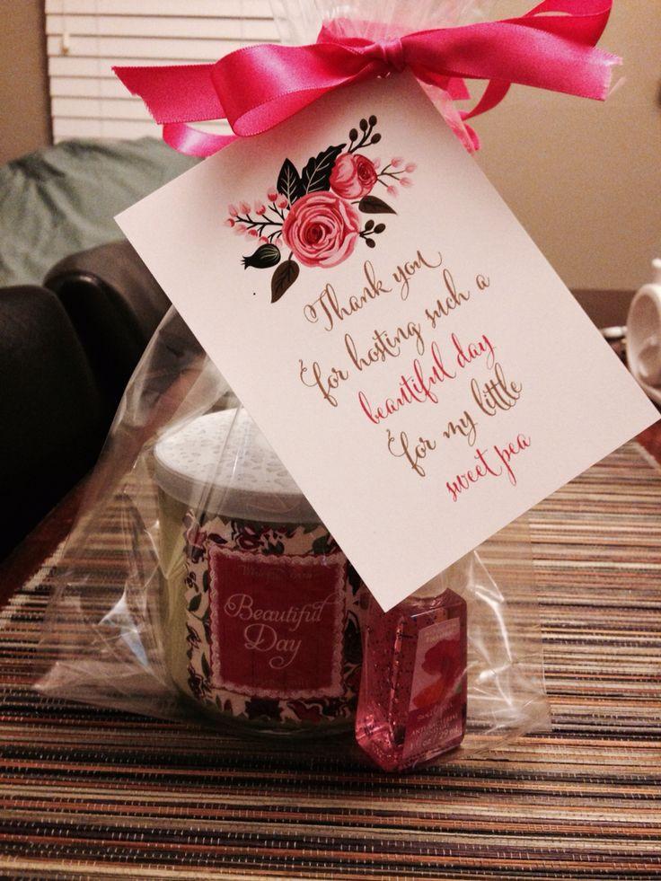 Gift Ideas For Baby Shower Host  Baby shower hostest t Craft Ideas Pinterest