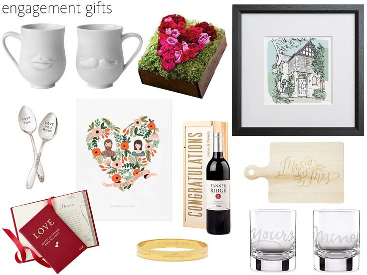 Gift Ideas For Engagement Party  Best 25 Engagement party ts ideas on Pinterest
