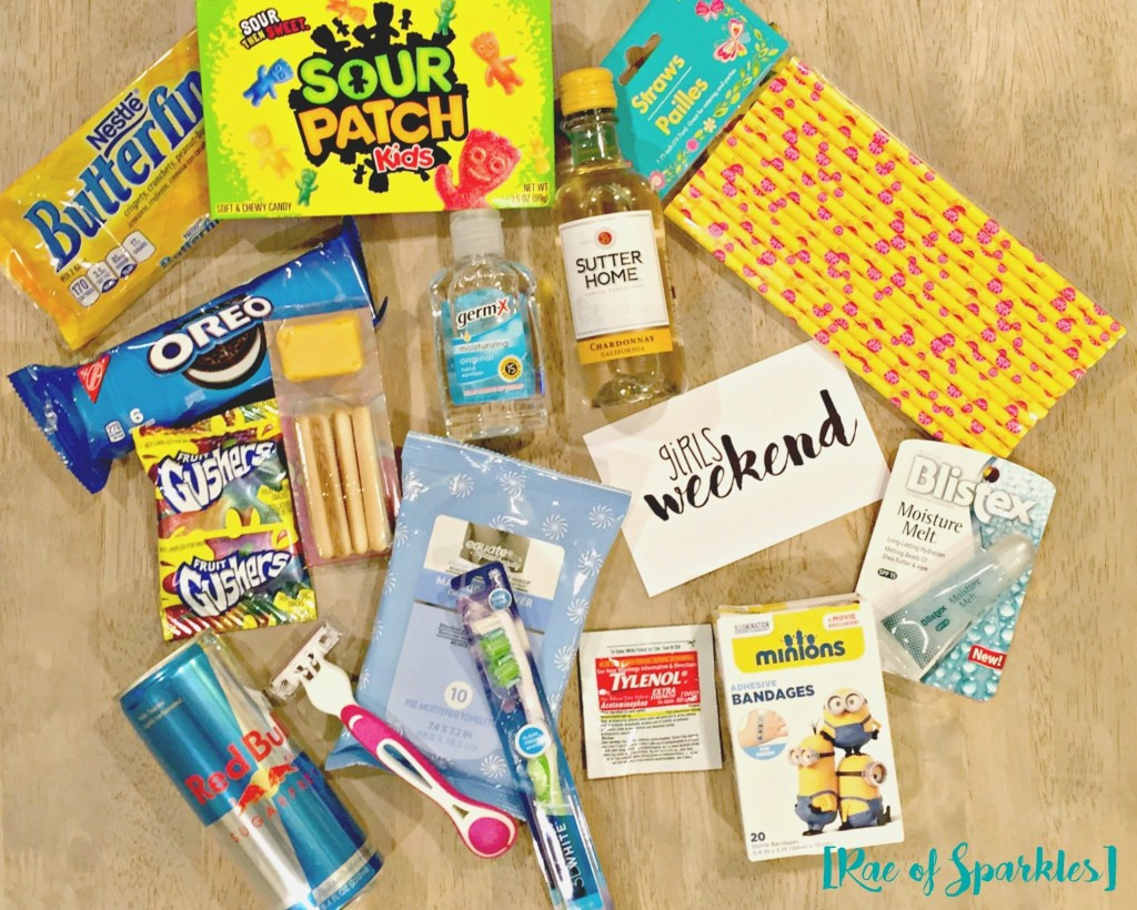 Gift Ideas For Girls Weekend  Girls Weekend Gift Bags