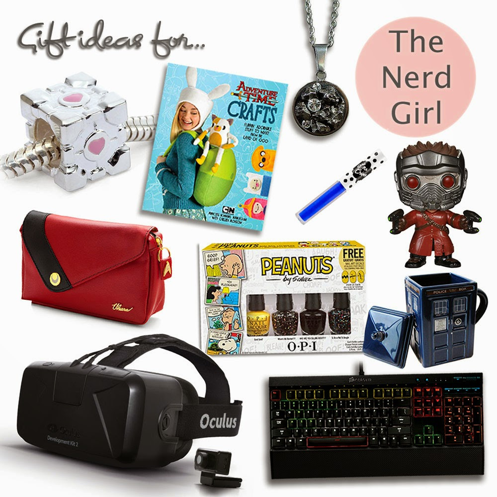 Gift Ideas For Nerdy Girlfriend  Christmas Gift Guide Ideas for Nerdy Geek Girls