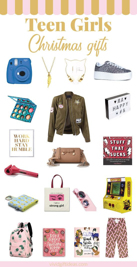 Gift Ideas For Teenage Girls  20 Trendy Christmas Gifts for Teenage Girls