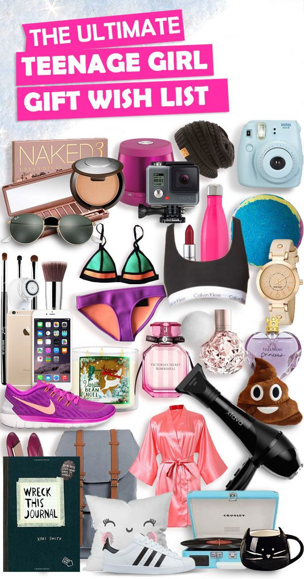 Gift Ideas For Teenage Girls  Christmas Gifts for Teenage Girls List [New for 2018