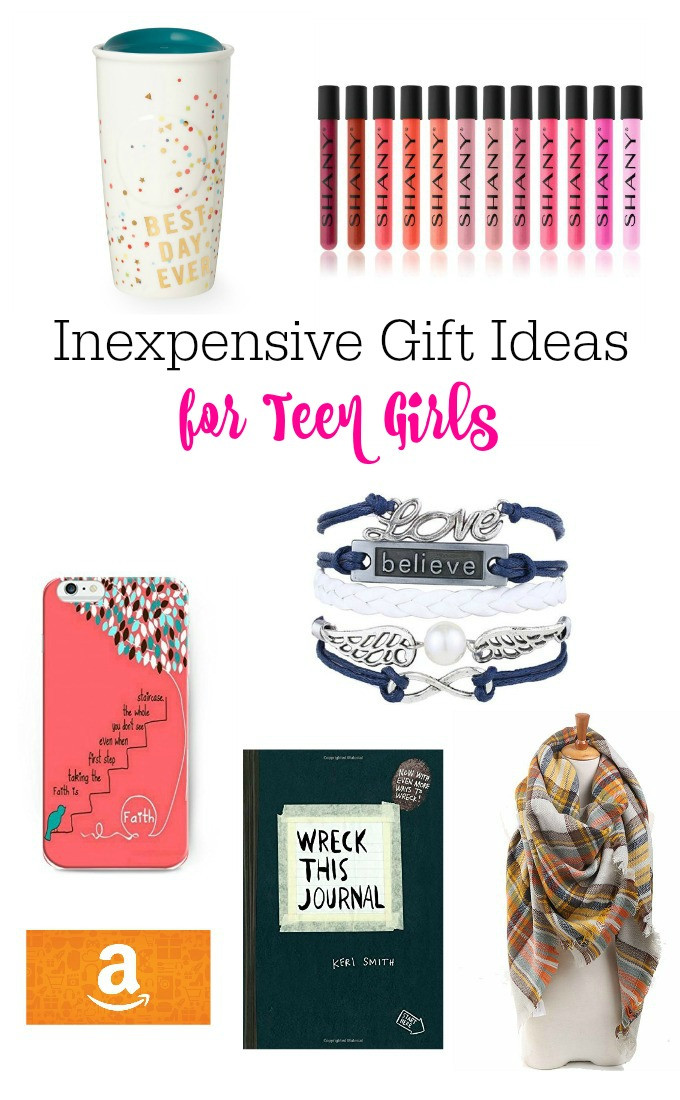 Gift Ideas For Teenage Girls  Inexpensive Gift Ideas For Teen Girls