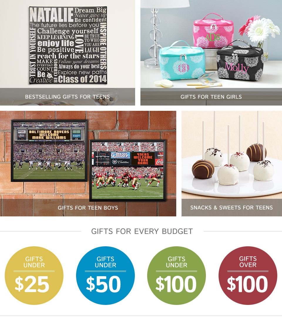 Gift Ideas For Teenage Girls  Teen Gifts