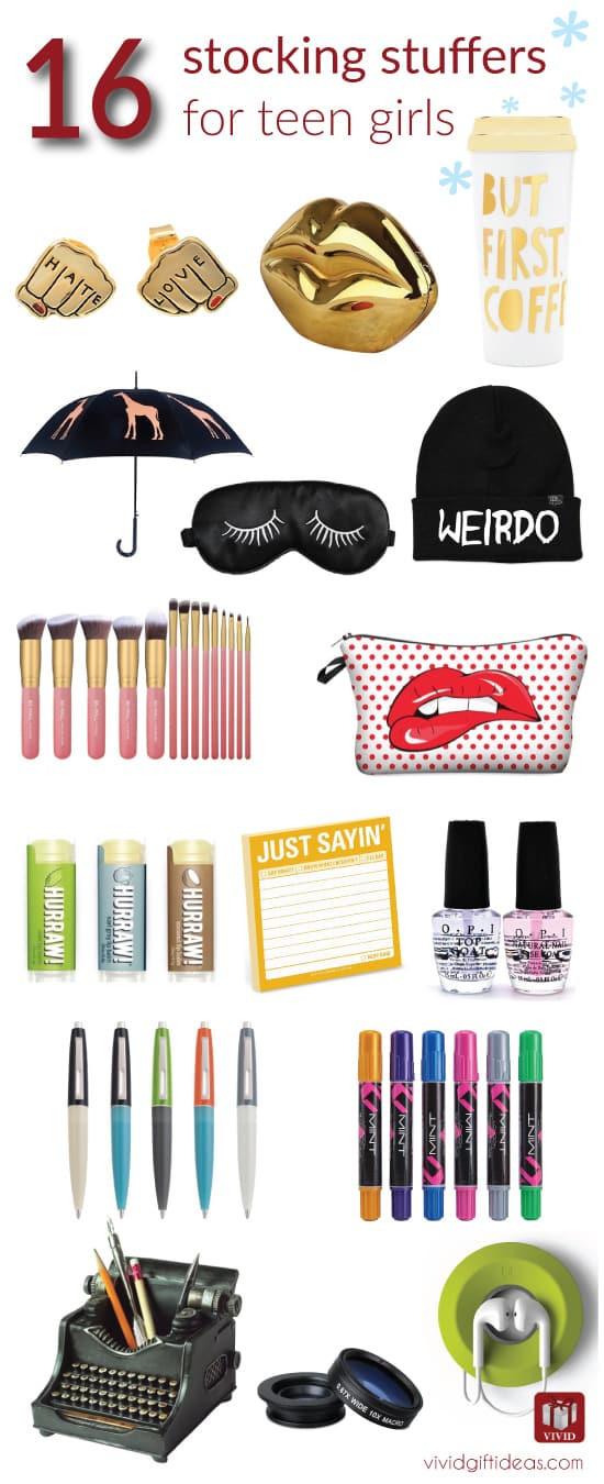 Gift Ideas For Teenage Girls  16 Stocking Stuffer Ideas for Teenage Girls Vivid s Gift