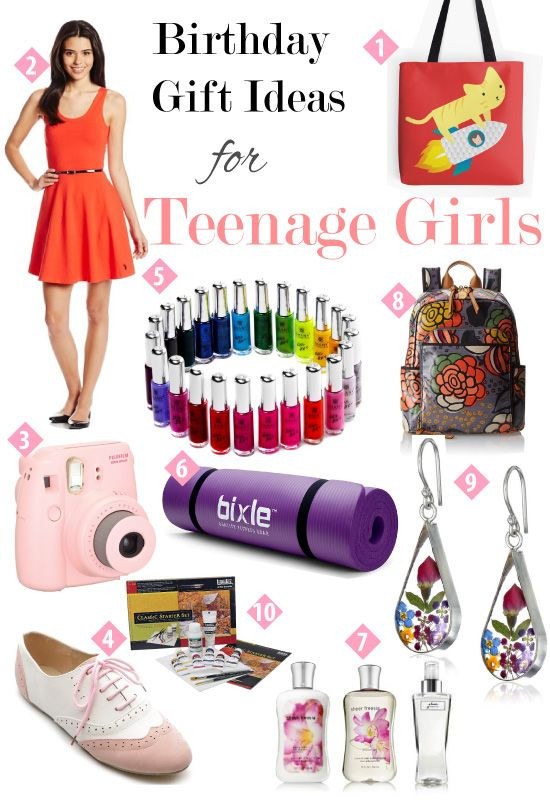 Gift Ideas For Teenage Girls  Birthday Gift Guide for Teen Girls