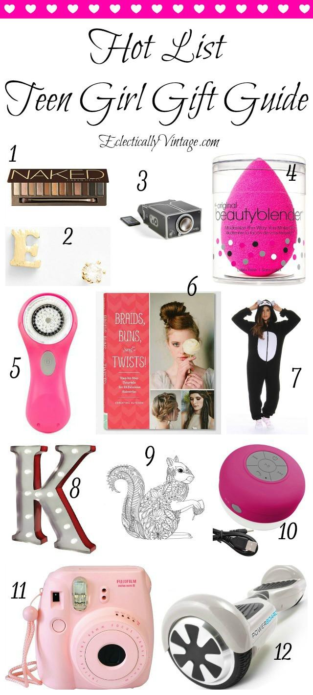 Gift Ideas For Teenage Girls  Hot List Teenage Girl Gift Guide