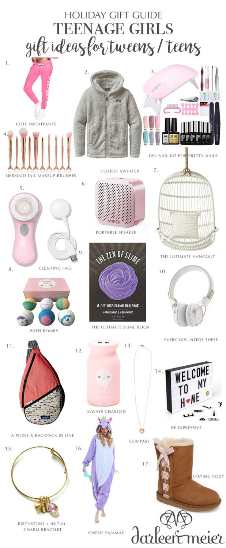 Gift Ideas For Teenage Girls  Unicorn Birthday Party Darling Darleen