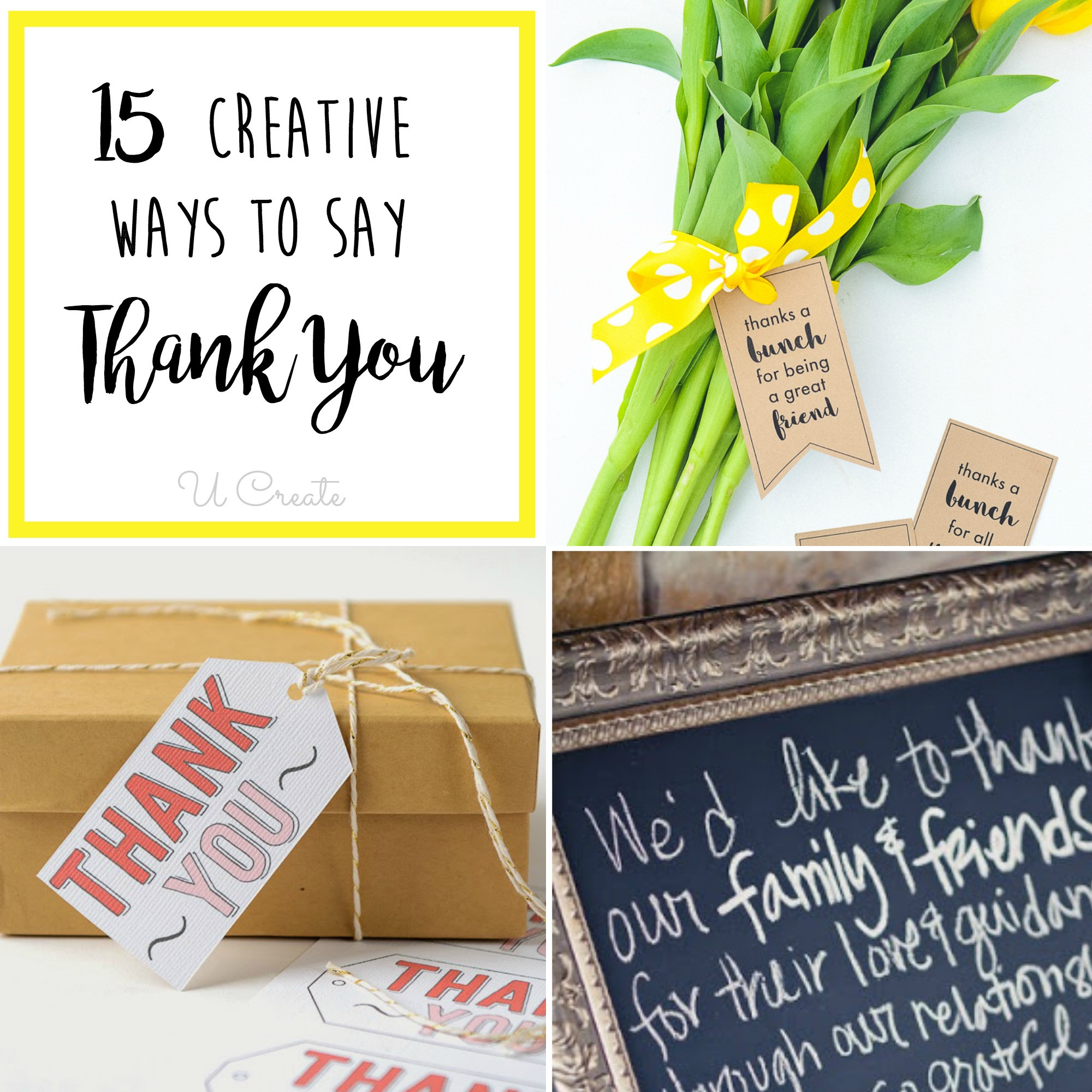 Gift Ideas To Say Thank You  15 Creative Ways to Say Thank You