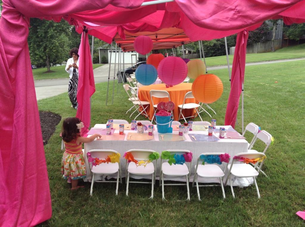 "Girls 2Nd Birthday Party Ideas  Ella s 2nd Birthday Party "" Girly Elmo Chevron Party"