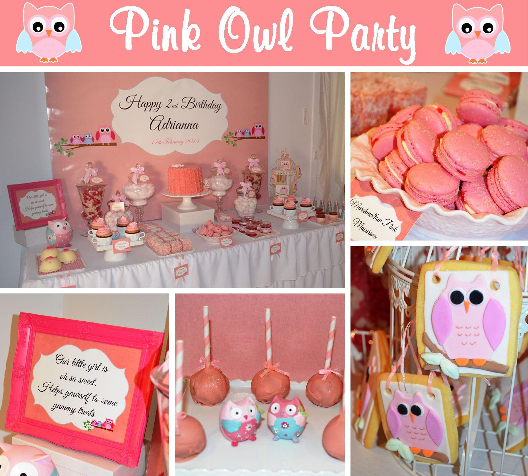 Girls 2Nd Birthday Party Ideas  Girls 2nd Birthday Ideas