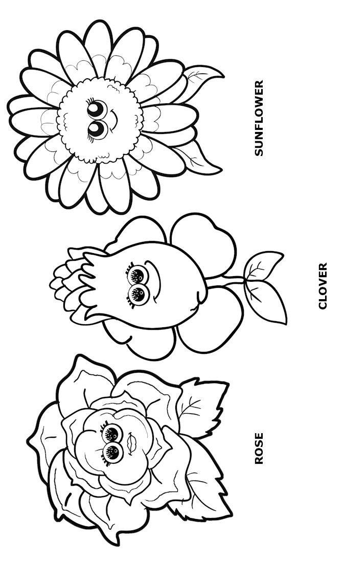 Girls Scout Daisy Coloring Pages  Flower Friends Coloring Page daisy scouts