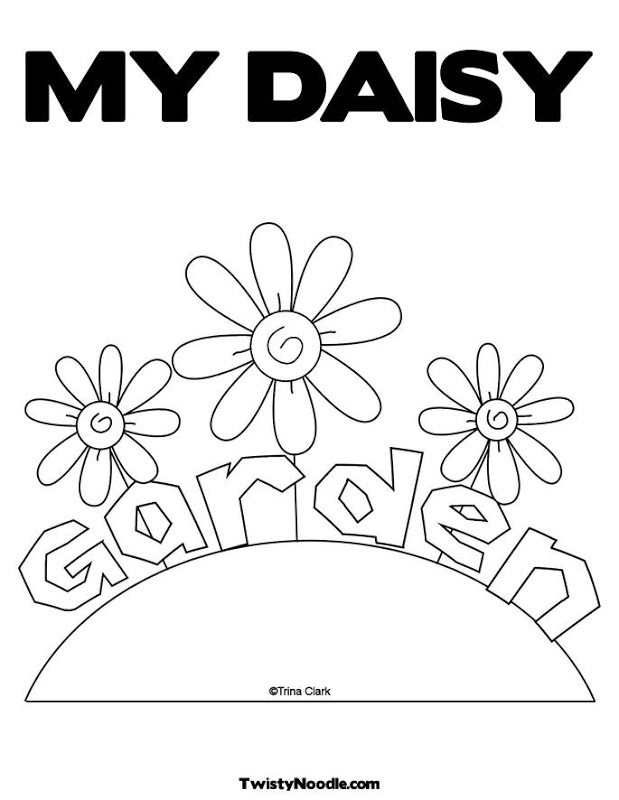 Girls Scout Daisy Coloring Pages  Daisy Flower Garden Journey Coloring Pages