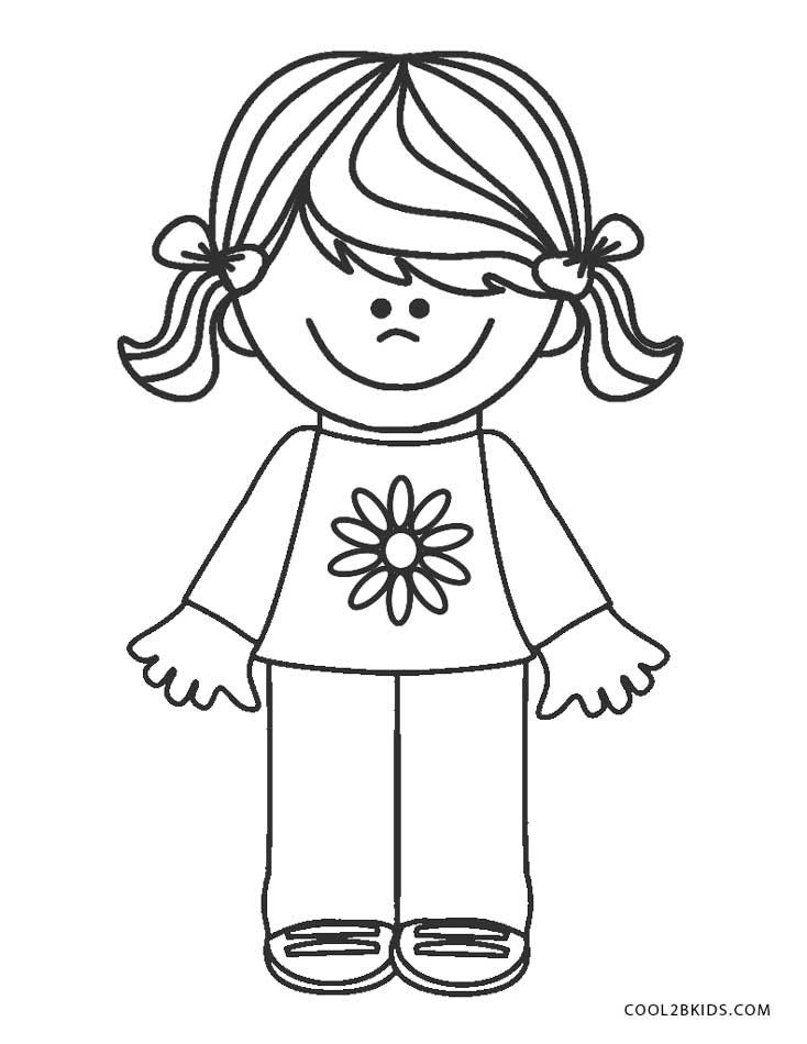Girls Scout Daisy Coloring Pages  Free Printable Girl Scout Coloring Pages For Kids