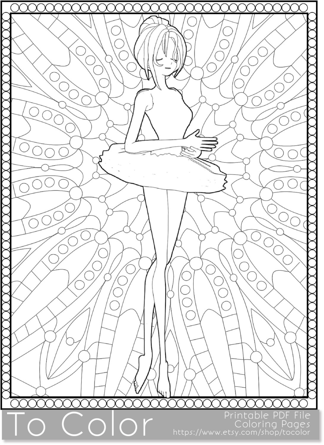 Girly Mandala Coloring Pages  Girly Mandala Coloring Pages Collection Free Coloring Book