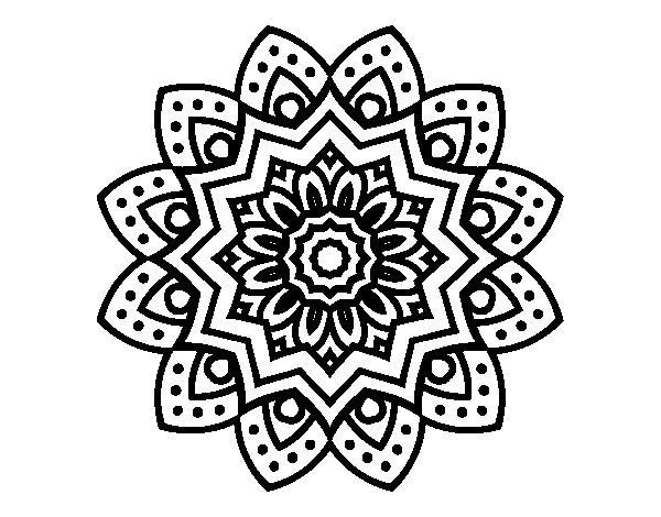 Girly Mandala Coloring Pages  134 best images about mandalas on Pinterest