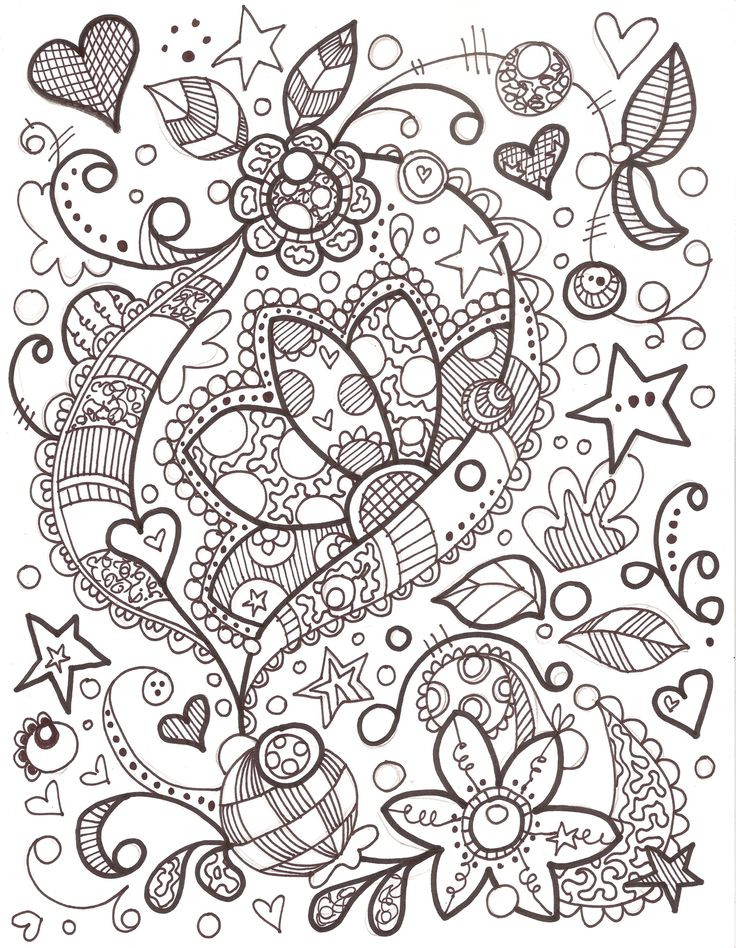 Girly Mandala Coloring Pages  Girly Doodle Doodles Pinterest