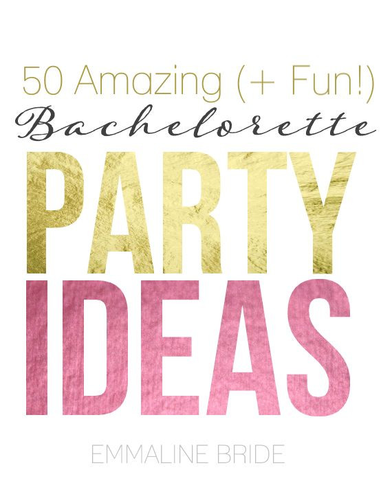 Good Bachelorette Party Ideas  25 best ideas about Bachelorette party activities on