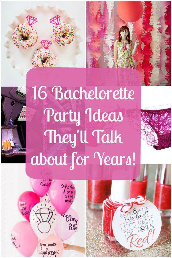 Good Bachelorette Party Ideas  17 Best ideas about Bachelorette Parties on Pinterest