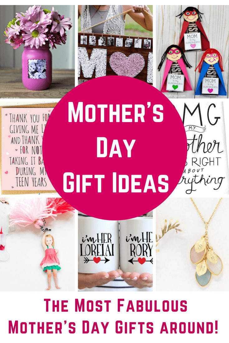 Good Mothers Day Gift Ideas  Fabulous Mother s Day Gift Ideas DIY Gifts and Great