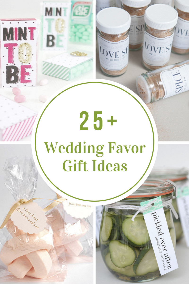 Good Wedding Gift Ideas  Wedding Favor Gift Ideas The Idea Room