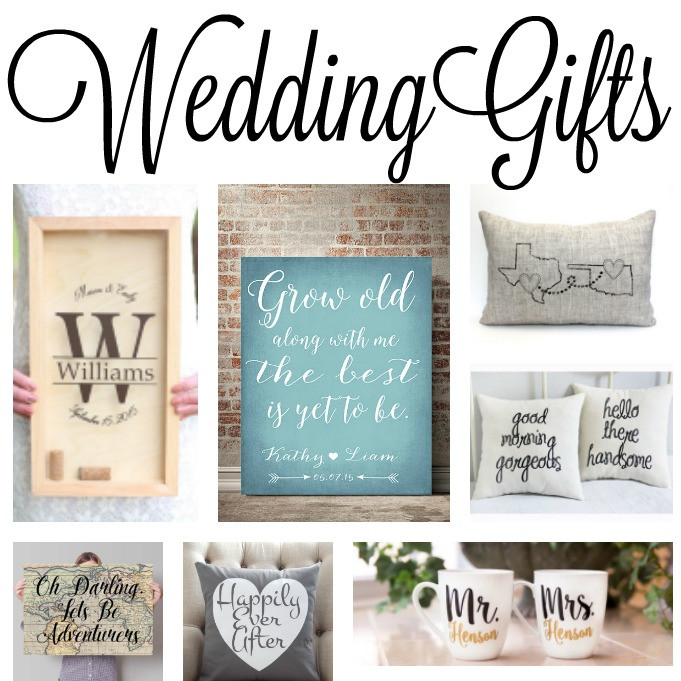 Good Wedding Gift Ideas  Wedding Gift Ideas The Country Chic Cottage