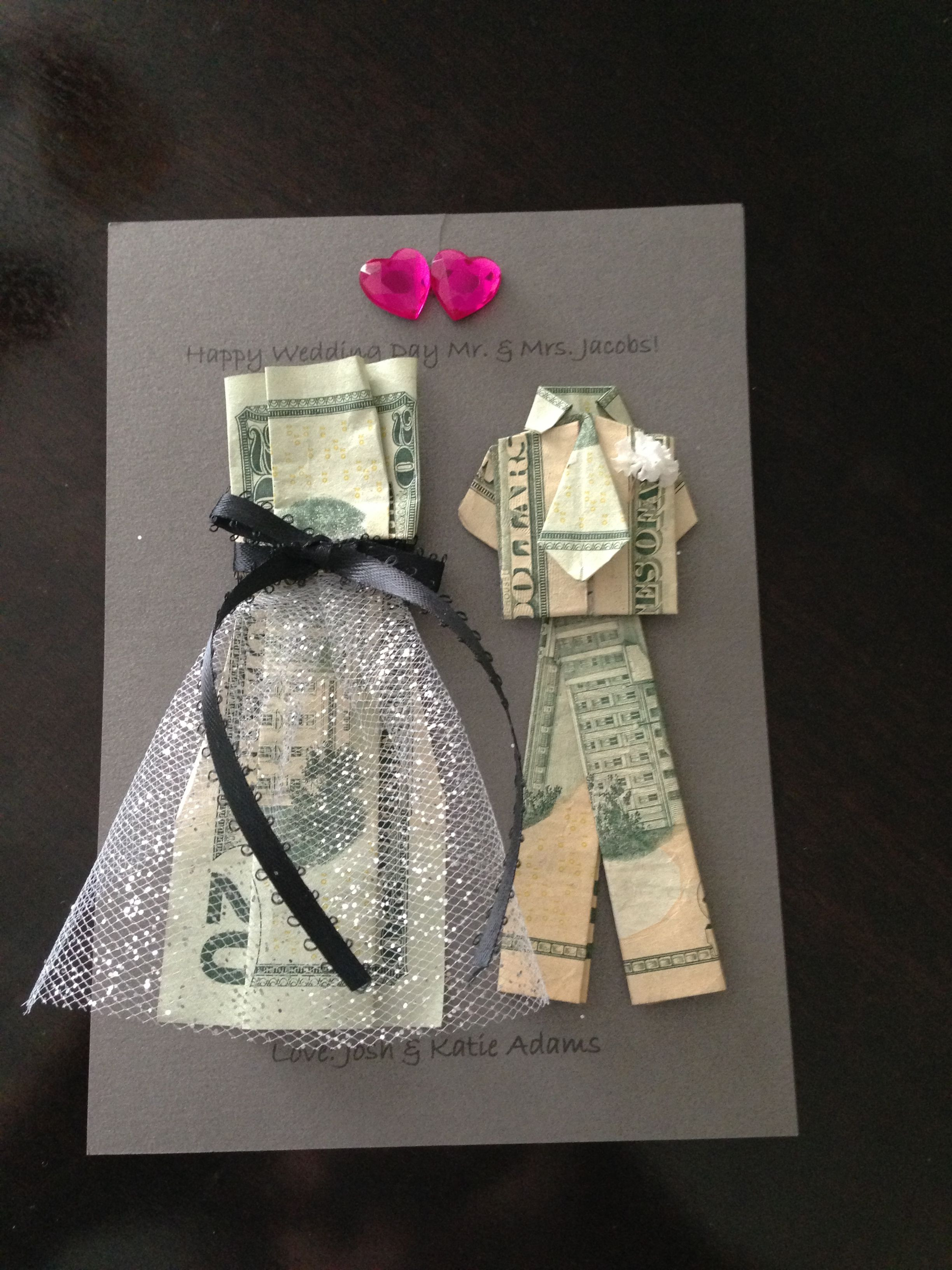Good Wedding Gift Ideas  Wedding Money Gifts on Pinterest