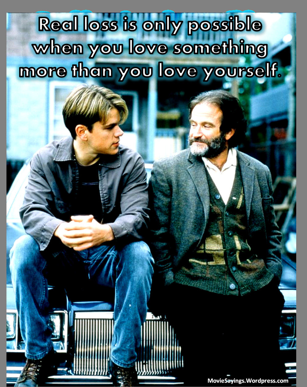 Good Will Hunting Love Quote  Good Will Hunting Memorable Quotes QuotesGram
