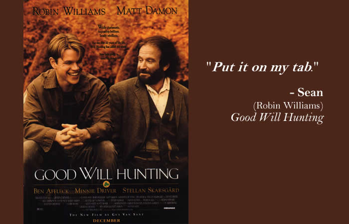 Good Will Hunting Love Quote  Popular Movies Quoting the King James Bible