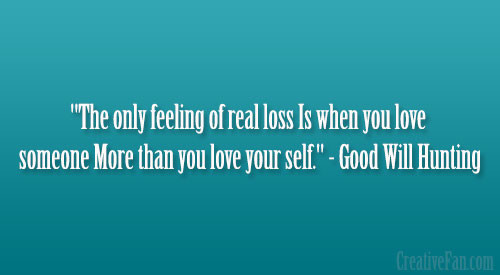 Good Will Hunting Love Quote  Good Will Hunting Love Quotes QuotesGram