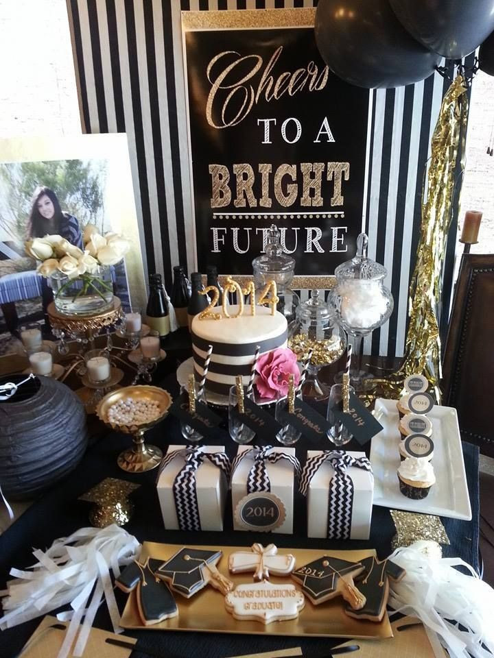 Graduation Dinner Party Ideas  Graduation Party by Sincerely Style
