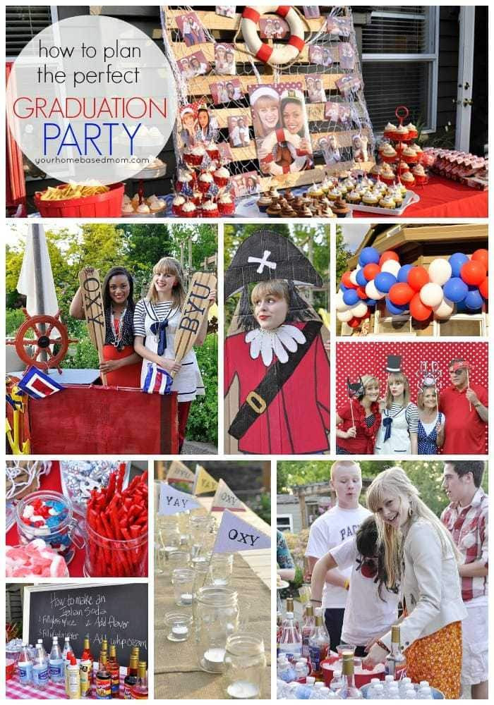 Graduation Dinner Party Ideas  Graduation Party Ideas From Your Homebased Mom