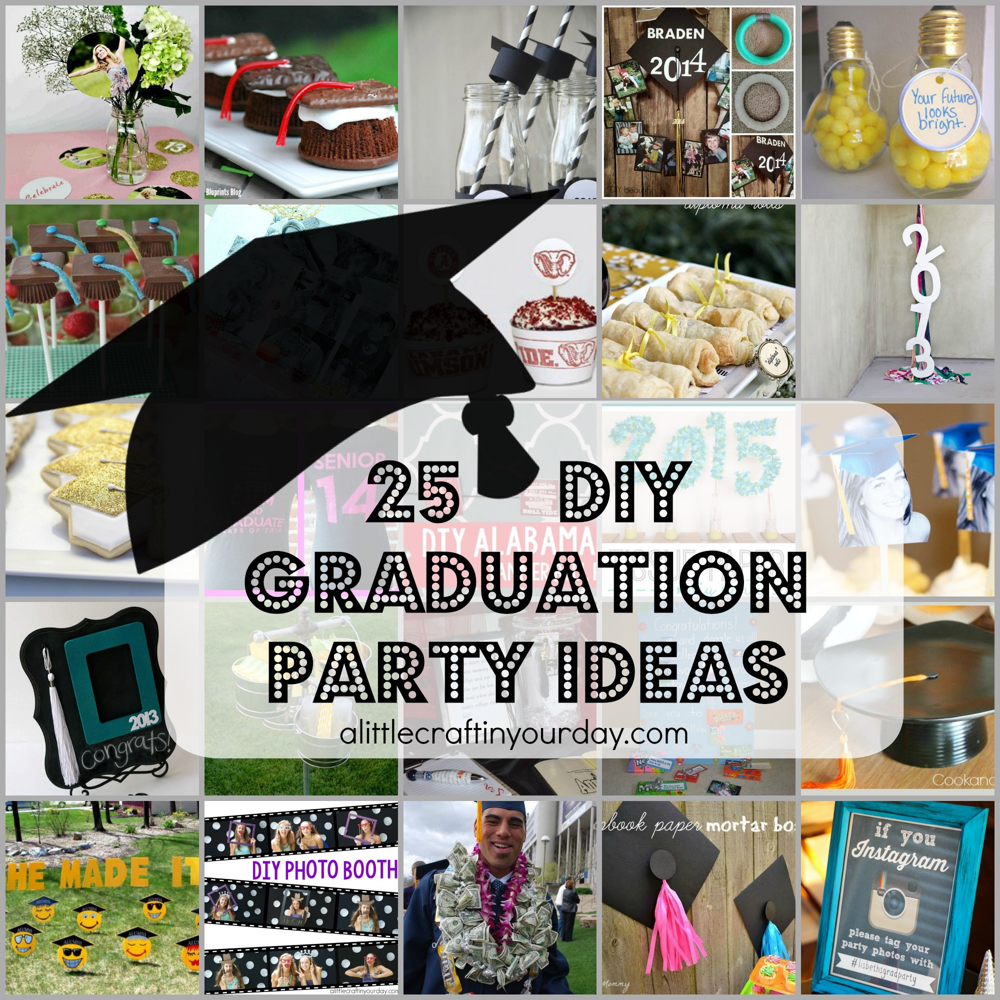 Graduation Dinner Party Ideas  25 DIY Graduation Party Ideas A Little Craft In Your Day