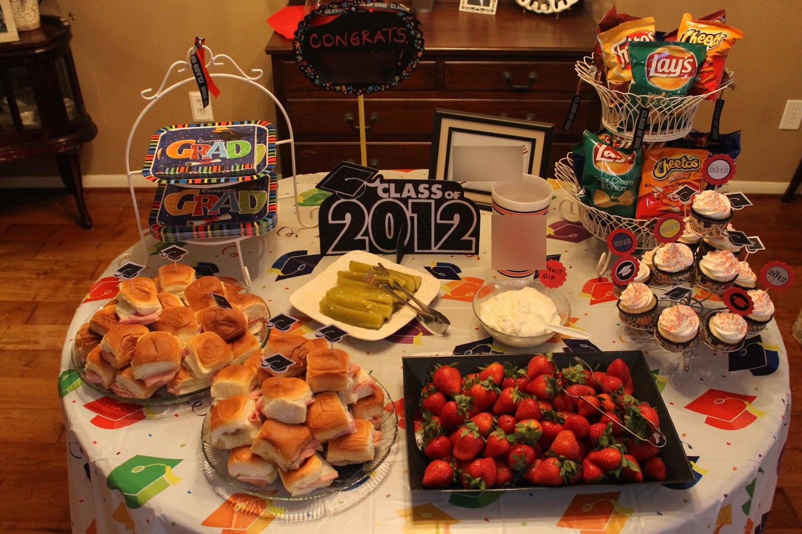 Graduation Dinner Party Ideas  Texas Decor Graduation Party Gift Ideas