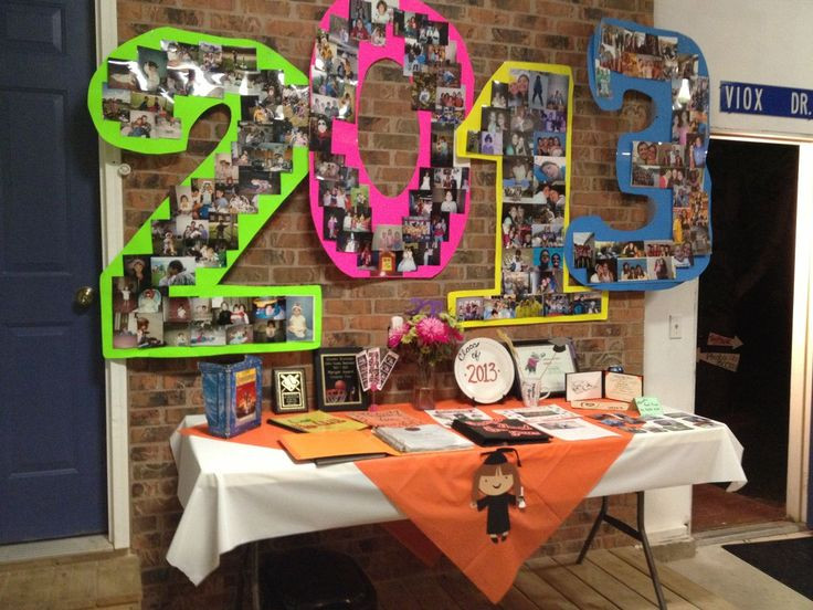 Graduation Dinner Party Ideas  Perfect for s candy buffet backdrop graduationparty
