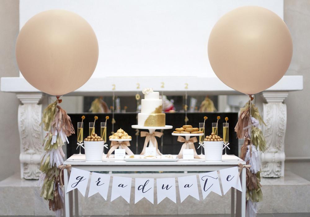 Graduation Dinner Party Ideas  Sparkling Senior Graduation Party with Shutterfly — Kristi