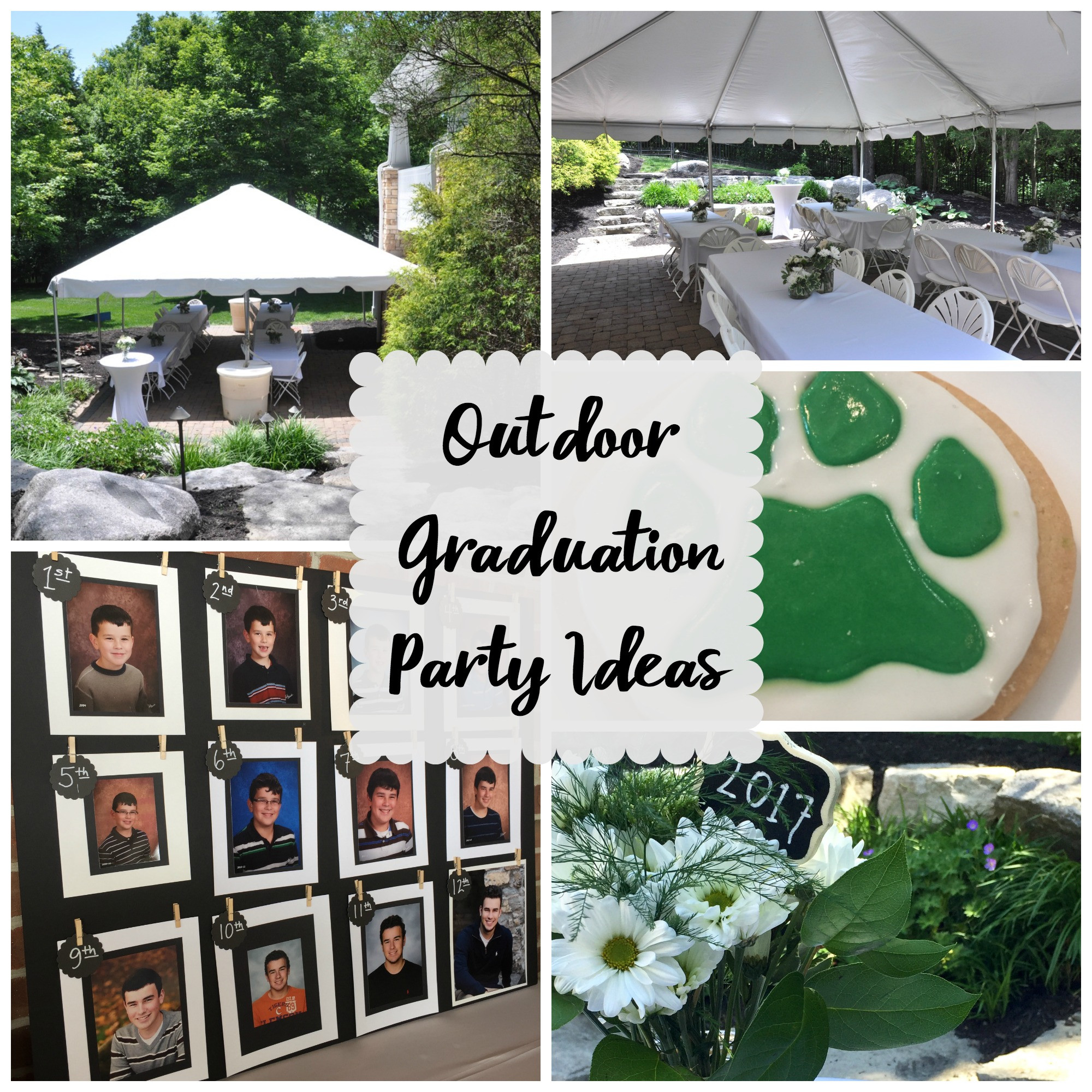 Graduation Party Ideas For Backyard  Outdoor Graduation Party Evolution of Style