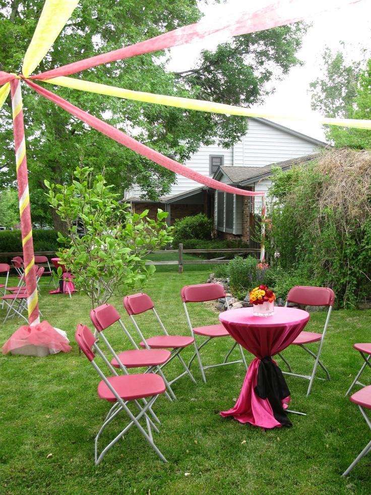 Graduation Party Ideas For Backyard  30 best Unique Buffets & Dessert Tables images on
