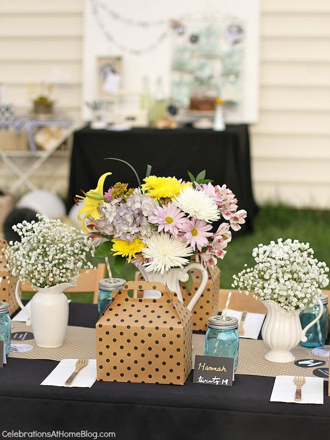 Graduation Party Ideas For Backyard  Shabby Chic Graduation Party Ideas Celebrations at Home