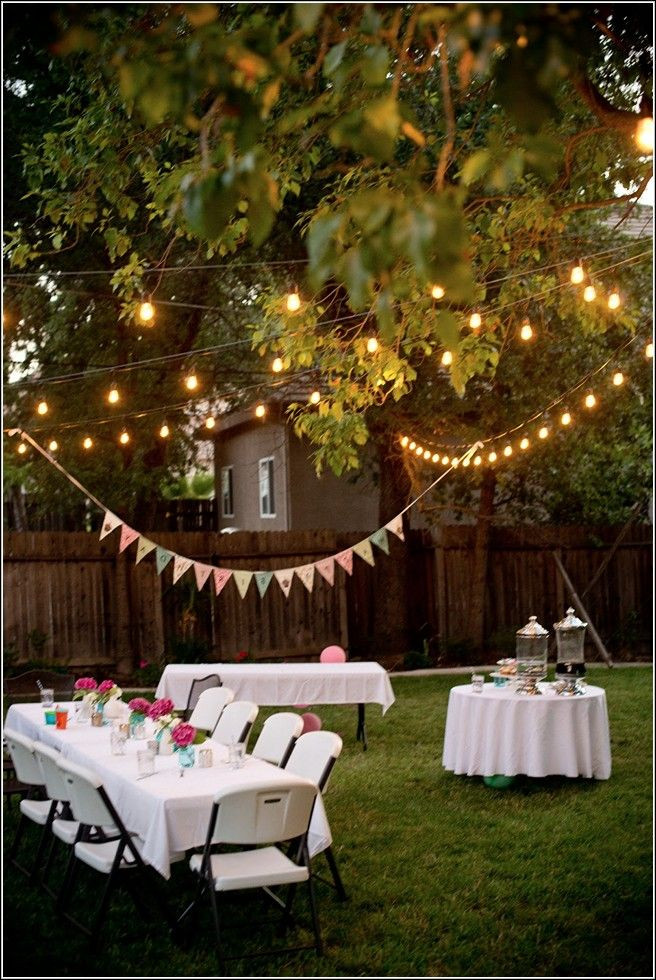 Graduation Party Ideas For Backyard  Backyard Party Ideas For Adults