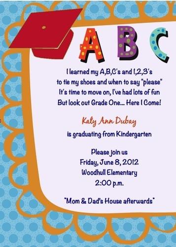 Graduation Quotes For Kids  Children s Kindergarten Graduation Hat ABC 123 Pre K