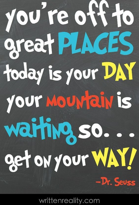 Graduation Quotes For Kids  Dr Seuss Quotes For Kids Kids Learning Fun