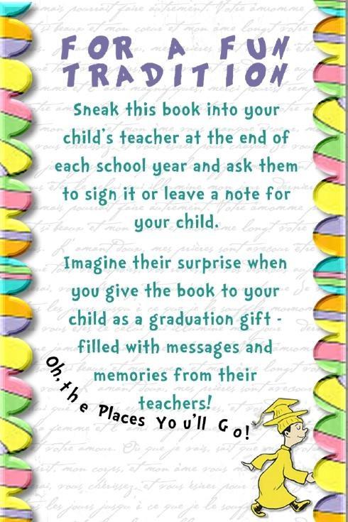 Graduation Quotes For Kids  Graduation t Secretly have your children s teachers