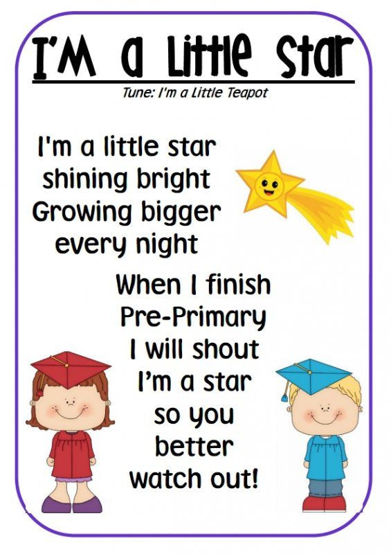 Graduation Quotes For Kids  Cute poem for students to perform at a graduation ceremony