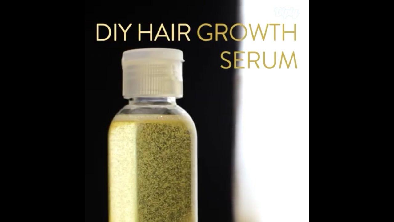 Hair Growth Serum DIY  DIY Hair Growth Serum