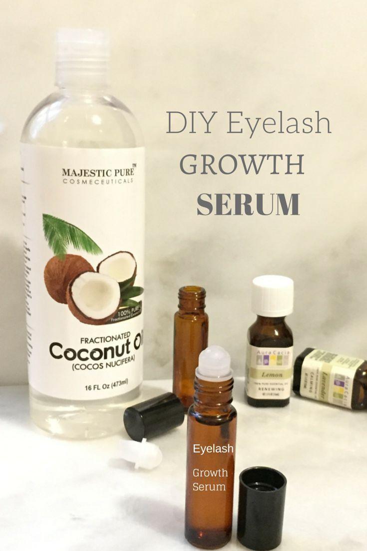 Hair Growth Serum DIY  DIY Eyelash Serum
