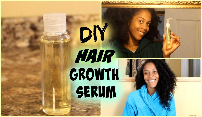 Hair Growth Serum DIY  Natural Hair Hair Growth Serum