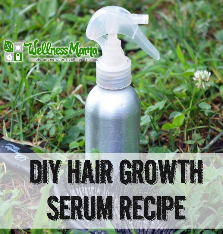Hair Growth Serum DIY  DIY Hair Growth Serum Recipe