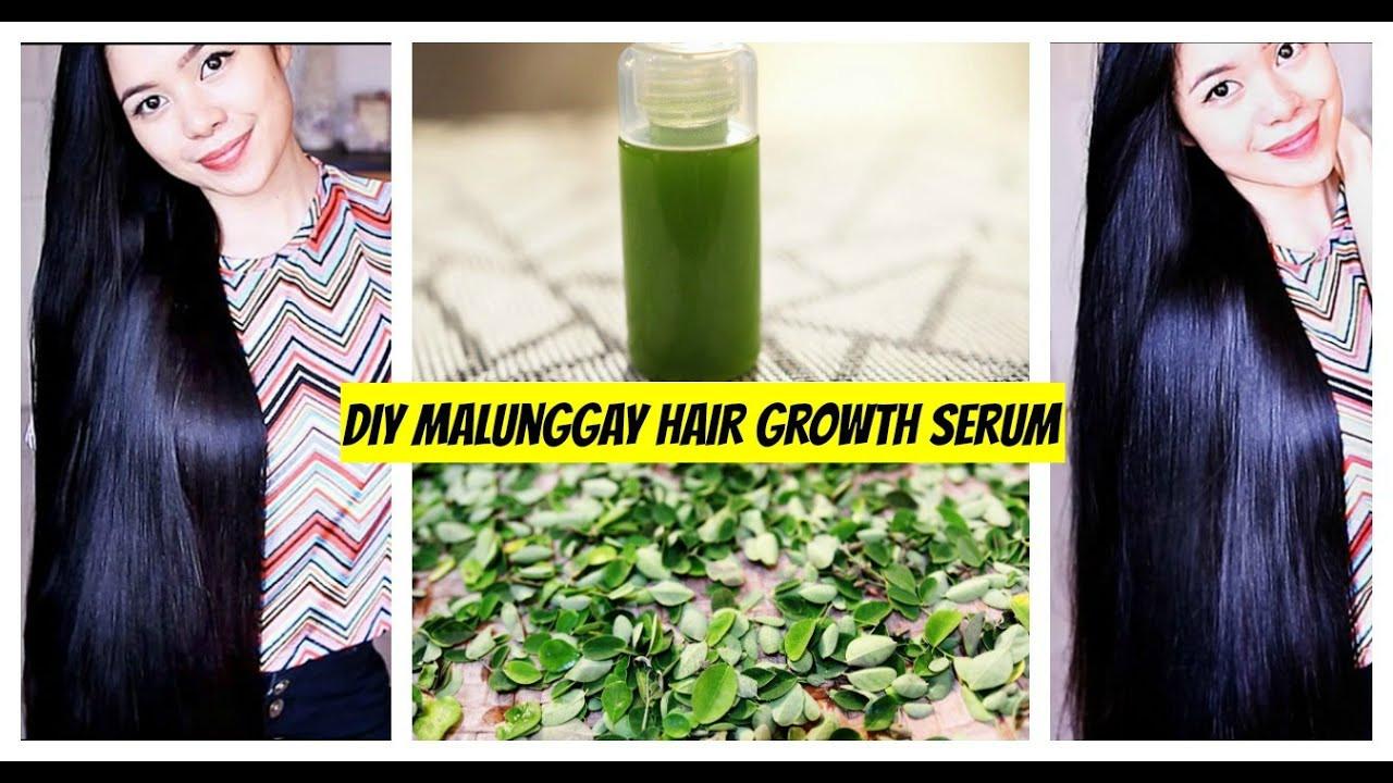 Hair Growth Serum DIY  DIY Malung Moringa Hair Growth Serum Grow Hair faster
