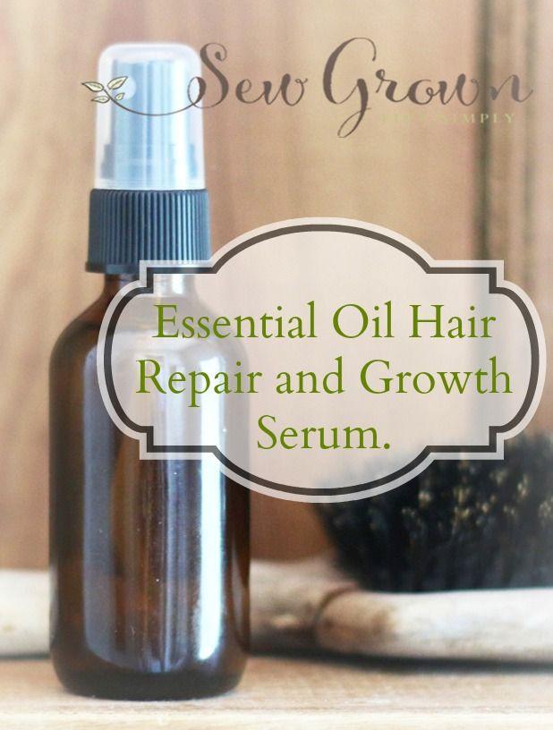Hair Growth Serum DIY  Essential Oil Healthy Hair Serum Recipe
